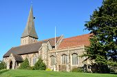 pic of church-of-england  - large Parish Church in  Braintree Essex England - JPG