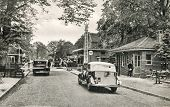 GRONAU, GERMANY, CIRCA  1937: Glaner Br�?�¼cke (German - Holland border)
