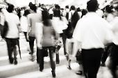 picture of commutator  - Business Commuters in Hong Kong - JPG