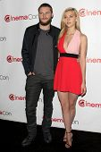 LOS ANGELES - MAR 24:  Jack Raynor, Nicola Peltz at the Paramount Pictures CinemaCon 2014 Photo Call