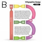 colorful infographics options