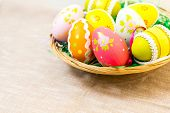 stock photo of easter candy  - Easter eggs  - JPG