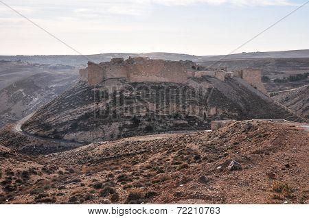 Ruins Of Old Shobak Castle - Jordan