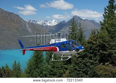 Scenic Flights In New Zealand