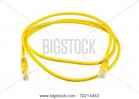 Yellow Ethernet Line