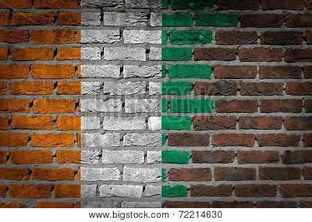 Dark Brick Wall - Ivory Coast