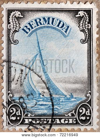 Yacht Lucie Stamp