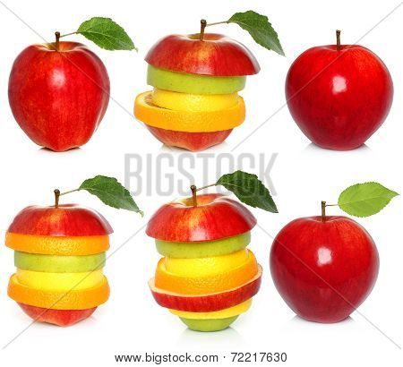 Apple and mixed fruit set