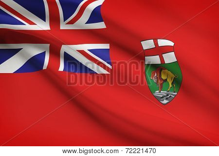 Canadian Provinces Flags Series - Manitoba