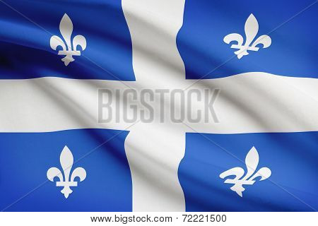 Canadian Provinces Flags Series - Quebec