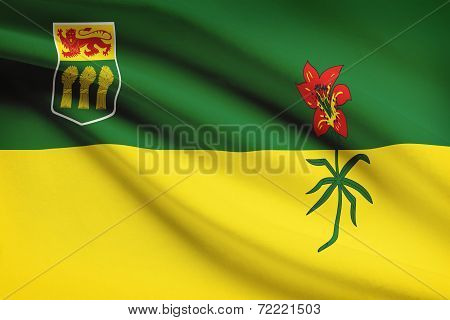 Canadian Provinces Flags Series - Saskatchewan