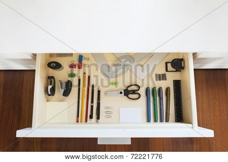 Drawing Supplies Drawer