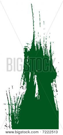 Green Ink Background