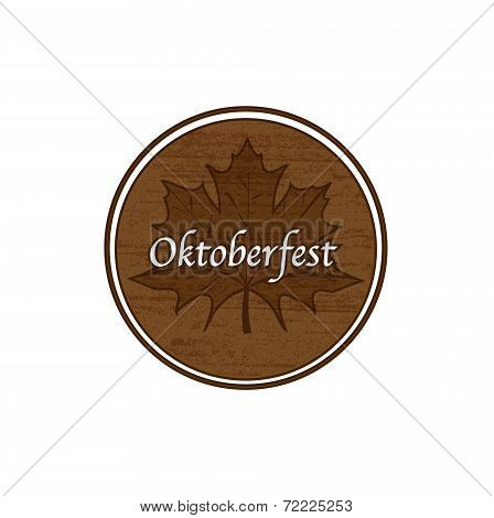 Brown Oktoberfest stamp