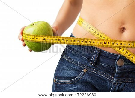 Healthy dieting concept