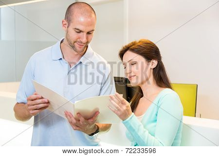 Medical Technical Assistant Or Doctor Councelling A Patient