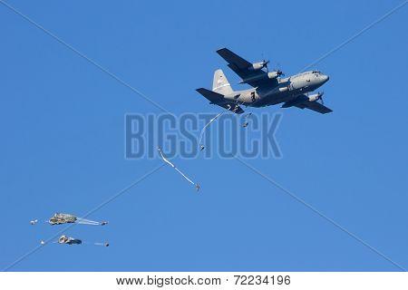 C-130 Paradrop