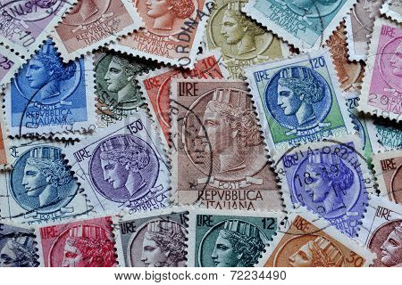 Italia stamps