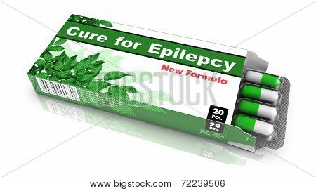 Cure for Epilepsy - Pack of Pills.