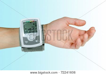 Device For Blood Pressure Heart Rate