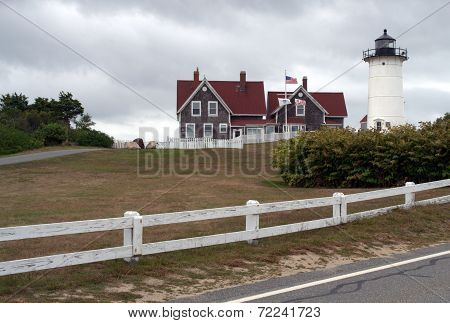 Nobska Light, Woods Hole MA, USA