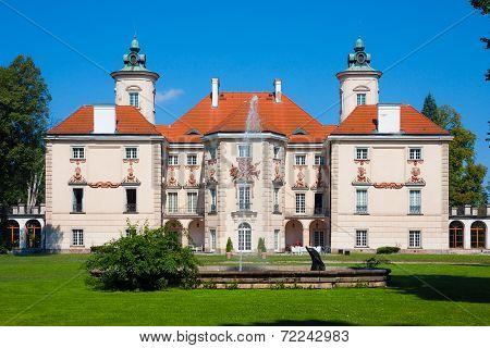 Baroque Palace in Otwock Wielki