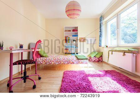 Modern Room For A Girl