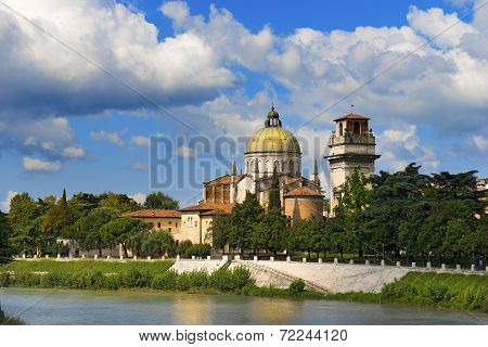 Church Of San Giorgio In Braida - Verona Italy