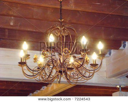 Shod chandelier