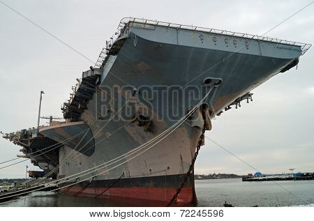 Decommissioned Aircraft Carrier