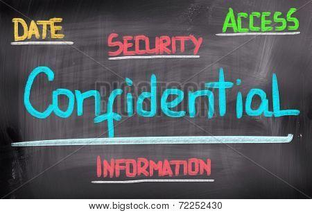 Confidential Concept