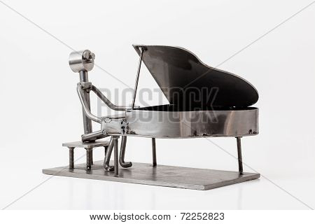 Stainless Steel Jazz Piano