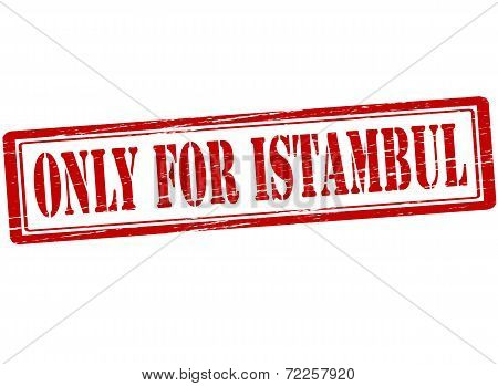 Only For Istambul