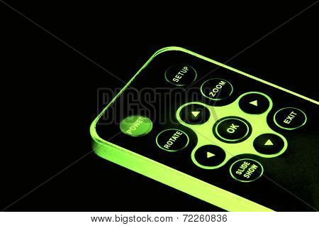Glowing Remote Control