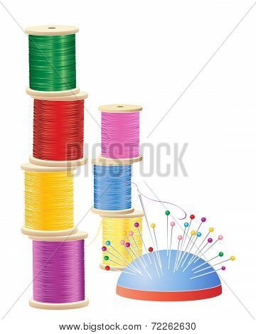 Cotton Reel Stack