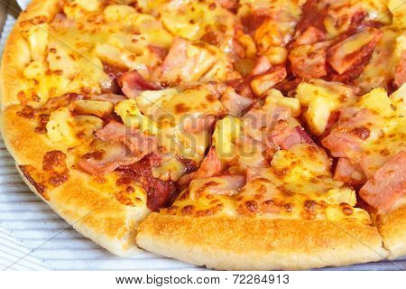 Hawaiian Pizza.