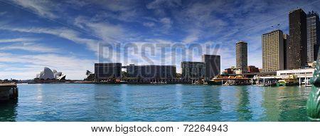 Circular Quay Sydney Panorama