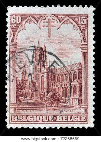 Saint Bavo church 1928