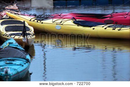 Empty Kayak