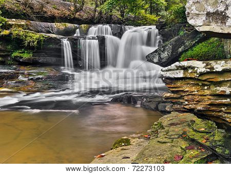Dunloup Creek Falls