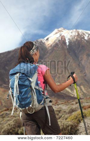 Desafío de senderismo