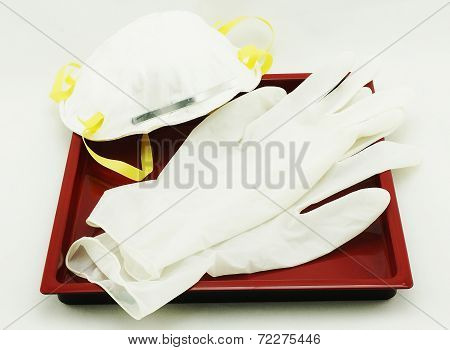 Gloves And Protective Mask