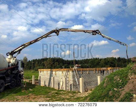 Concrete Mixer Truck With Pump