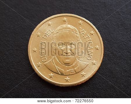 Pope Francis I Coin