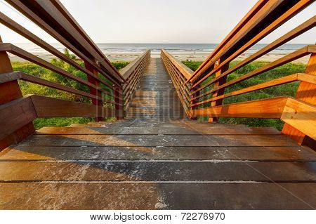 Beach Wooden Pier