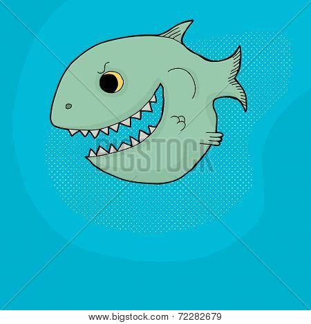 Menacing Fish