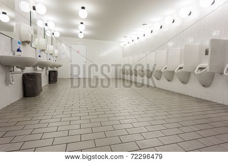 Urinals And Sinks
