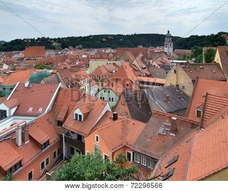 Meissen Roof Scenery