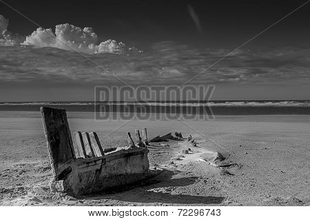 Old Broken Boat