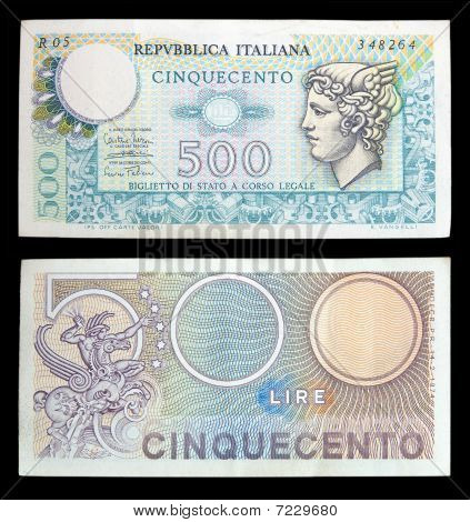 Old Italian Banknotes